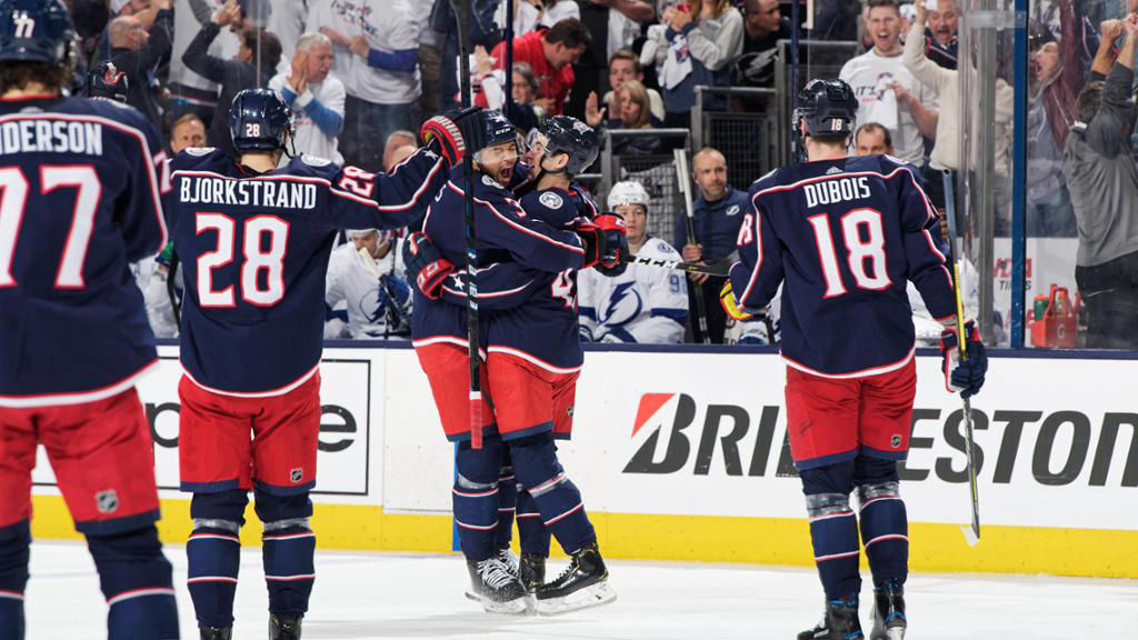 Columbus Blue Jackets Goal Celebration